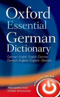 Oxford Essential German Dictionary (Paperback)