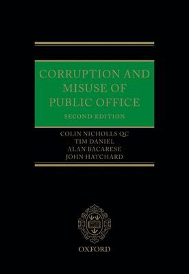 Corruption and Misuse of Public Office (Hardback)