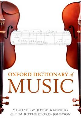 The Oxford Dictionary of Music (Hardback)