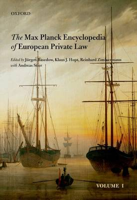 Max Planck Encyclopedia of European Private Law