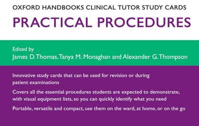 Oxford Handbooks Clinical Tutor Study Cards: Procedures - Oxford Handbooks Study Cards