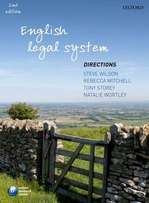 English Legal System Directions - Directions Series (Paperback)
