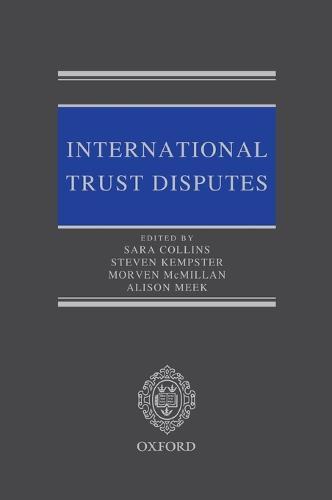 International Trust Disputes (Hardback)