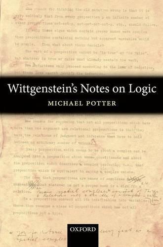 Wittgenstein's Notes on Logic (Paperback)