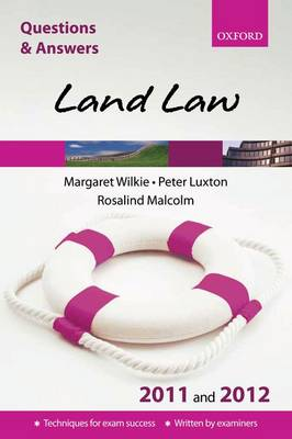 Q & A Revision Guide: Land Law 2011-2012 - Blackstone's Law Q & A S. (Paperback)