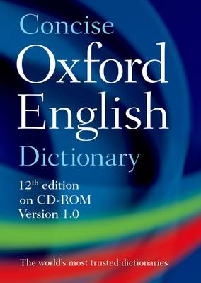 Concise Oxford English Dictionary: CD-ROM edition, Windows/Mac Individual User Version 1.0 (CD-ROM)