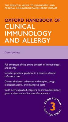 Oxford Handbook of Clinical Immunology and Allergy - Oxford Medical Handbooks