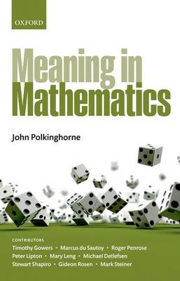 Meaning in Mathematics (Hardback)