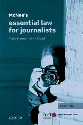 McNae's Essential Law for Journalists (Paperback)