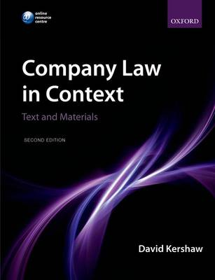 Company Law in Context: Text and materials (Paperback)