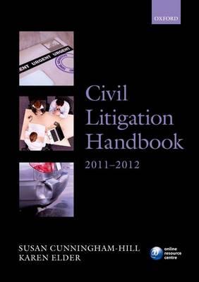 Civil Litigation Handbook 2011-2012 - Legal Practice Course Guide (Paperback)