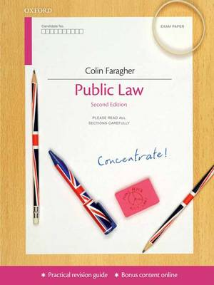Public Law Concentrate: Law Revision and Study Guide - Concentrate (Paperback)