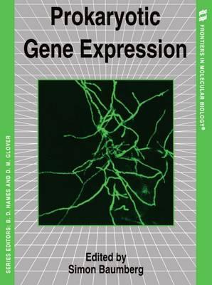 Prokaryotic Gene Expression - Frontiers in Molecular Biology 21 (Paperback)