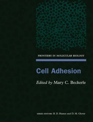 Cell Adhesion - Frontiers in Molecular Biology 39 (Paperback)