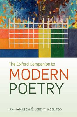 The Oxford Companion to Modern Poetry in English (Hardback)