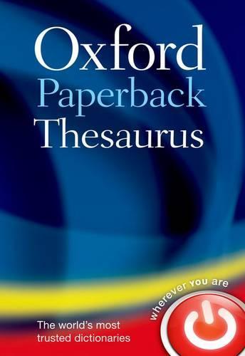 Oxford Paperback Thesaurus (Paperback)