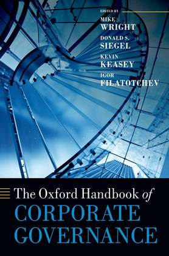 The Oxford Handbook of Corporate Governance - Oxford Handbooks (Hardback)