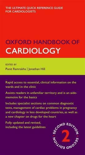 Oxford Handbook of Cardiology - Oxford Medical Handbooks