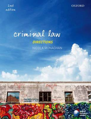 Criminal Law Directions - Directions Series (Paperback)