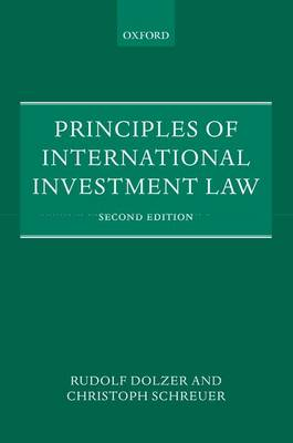 Principles of International Investment Law (Paperback)