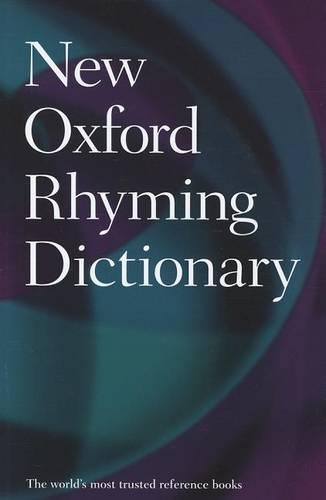 New Oxford Rhyming Dictionary - Oxford Quick Reference (Hardback)