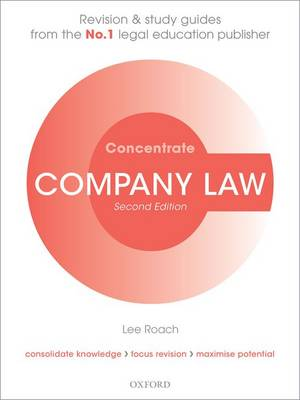 Company Law Concentrate: Law Revision and Study Guide - Concentrate (Paperback)