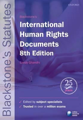 Blackstone's International Human Rights Documents - Blackstone's Statute Series (Paperback)