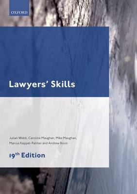 Lawyers' Skills - Legal Practice Course Guide (Paperback)