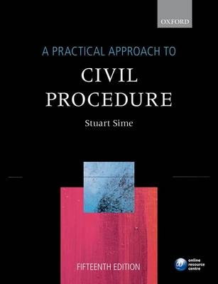 A Practical Approach to Civil Procedure - A Practical Approach (Paperback)