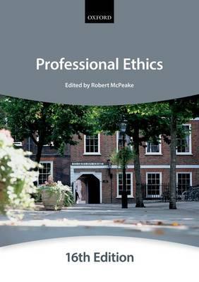 Professional Ethics - Bar Manuals (Paperback)