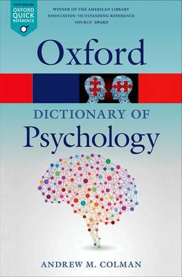 A Dictionary of Psychology - Oxford Quick Reference (Paperback)