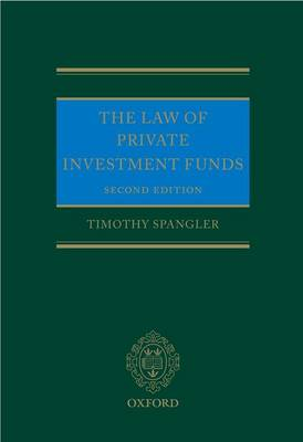The Law of Private Investment Funds (Hardback)