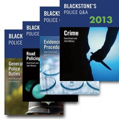 Blackstone's Police Q&A: Four Volume Pack 2013: v. 1-4 - Blackstone's Police Manuals (Paperback)