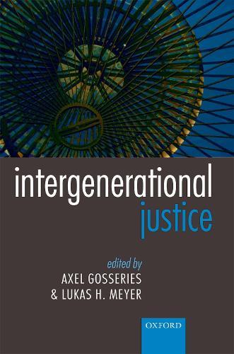Intergenerational Justice (Paperback)