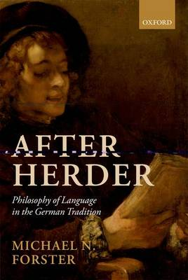 After Herder: Philosophy of Language in the German Tradition (Paperback)