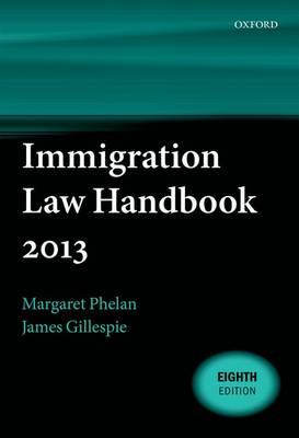 Immigration Law Handbook 2013 (Paperback)
