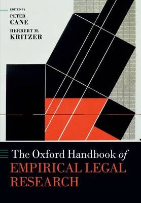 The Oxford Handbook of Empirical Legal Research - Oxford Handbooks (Paperback)