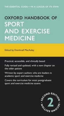 Oxford Handbook of Sport and Exercise Medicine - Oxford Medical Handbooks (Paperback)