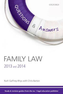 Questions & Answers Family Law 2013-2014: Law Revision and Study Guide - Concentrate Law Questions & Answers (Paperback)