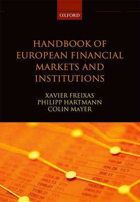 Handbook of European Financial Markets and Institutions (Paperback)
