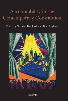 Accountability in the Contemporary Constitution (Hardback)