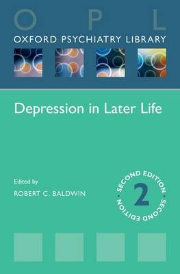 Depression in Later Life - Oxford Psychiatry Library (Paperback)