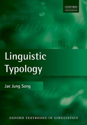 Cover Linguistic Typology - Oxford Textbooks in Linguistics