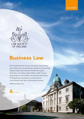 Business Law - Law Society of Ireland Manuals (Paperback)