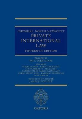 Cheshire, North & Fawcett: Private International Law (Hardback)