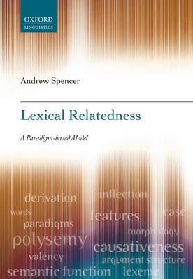 Lexical Relatedness (Hardback)