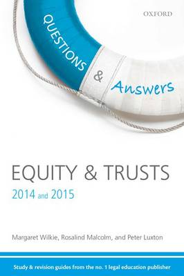 Questions & Answers Equity & Trusts 2014-2015: Law Revision and Study Guide - Concentrate Law Questions & Answers (Paperback)