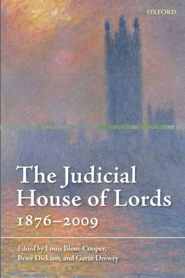 The Judicial House of Lords: 1876-2009 (Paperback)