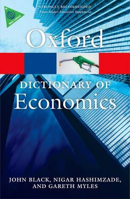 A Dictionary of Economics - Oxford Quick Reference (Paperback)