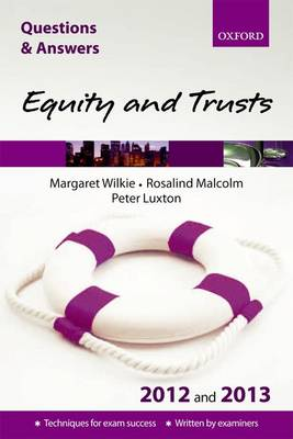Q & A Revision Guide: Equity and Trusts 2012/2013 - Law Questions & Answers (Paperback)